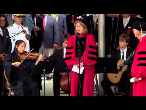 "Opera Singer Renée Fleming sings ""America the Beautiful"" | Harvard Commencement 2015"
