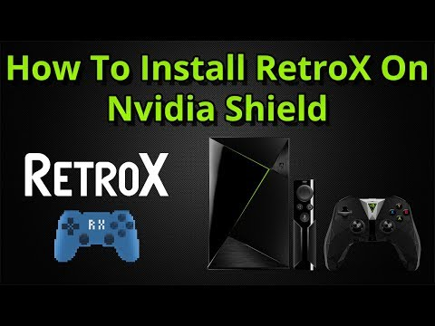 How To Install And Set Up RetroX On The Nvidia Shield Android TV