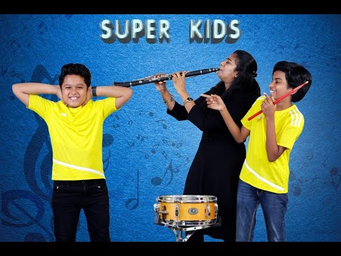 THE SUPER KIDS - LITTLE MONSTERS IN THE CITY