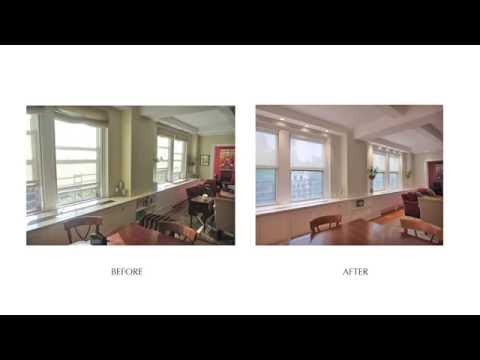 Great Room Makeover - Prewar, W 77th St, NYC Before & After
