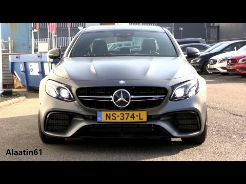 2018 Mercedes-AMG E63 S 4Matic New Full Exhaust Sound, In Depth Review Interior Exterior