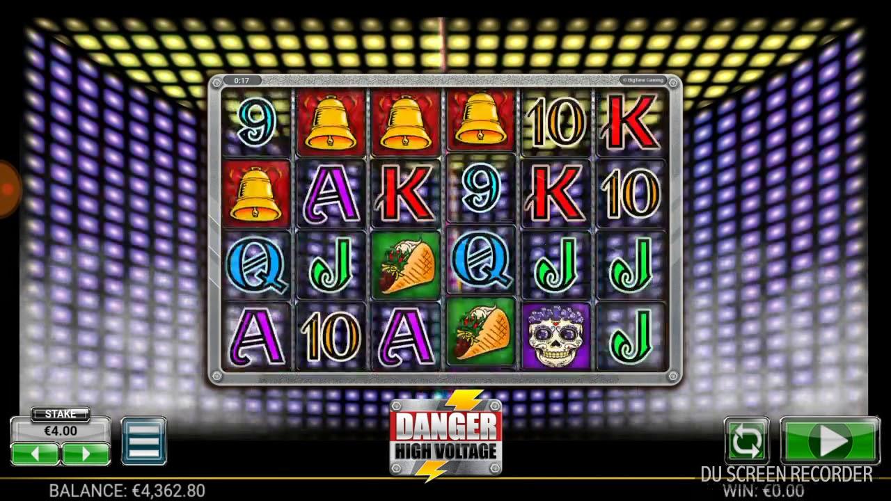 Danger High Voltage Slot Machine