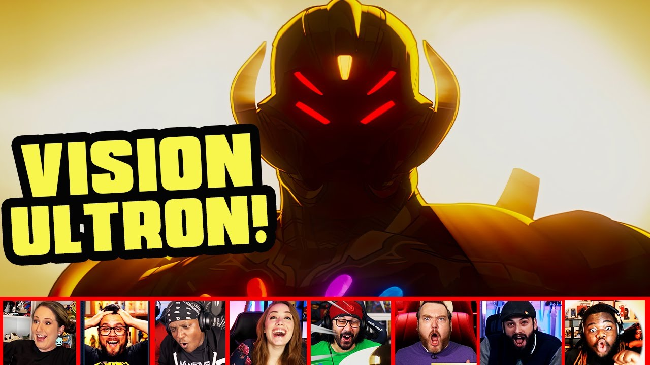 Reactors Reactions To Seeing Vision Ultron On What If Episode 7 | Mixed Reactions