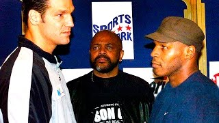 Mike Tyson in the UK - Fight against Lou Savarese