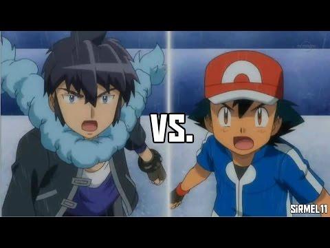 Ash Vs Alain Kalos League Finals! Pokemon XYZ Episode 38 - The Winner Of The Kalos League!