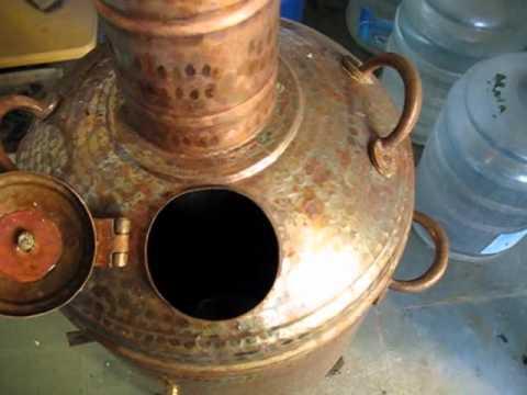 My copper Samovar