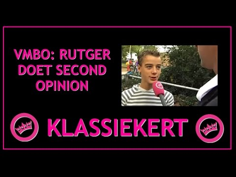 VMBO: Rutger doet second opinion