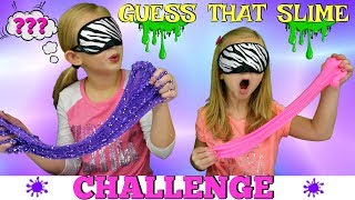 GUESS That SLIME Challenge! - DIY Viral Slimes Tested!!!