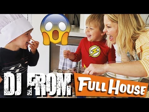 Cooking with the Messitt Twins  Guest Candace Cameron Bure DJ from Full House and Fuller House