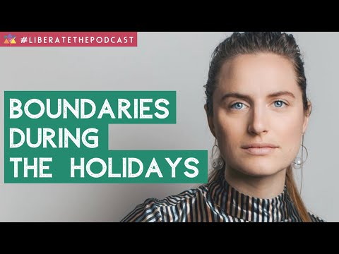 Boundaries During the Holidays