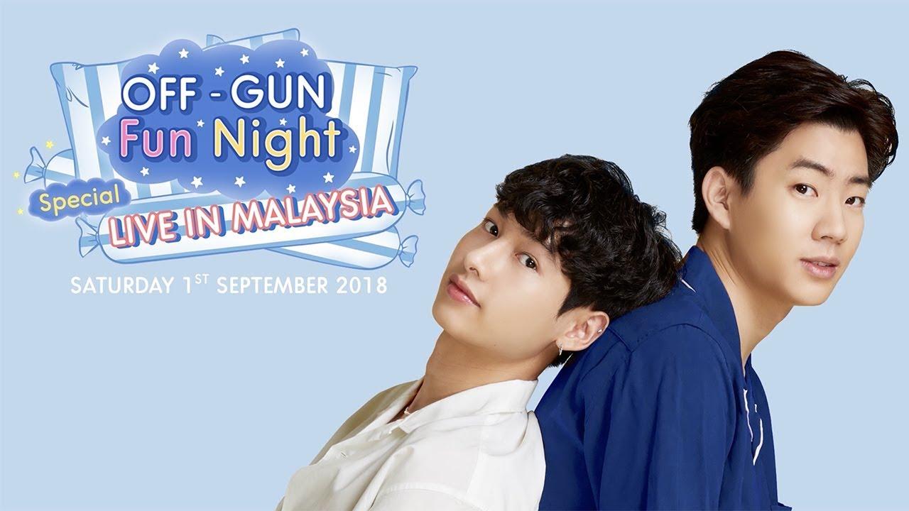 OFF-GUN Fun Night Special LIVE IN MALAYSIA [Eng Sub]
