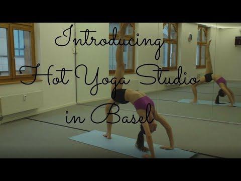 Hot Yoga Studio in Basel
