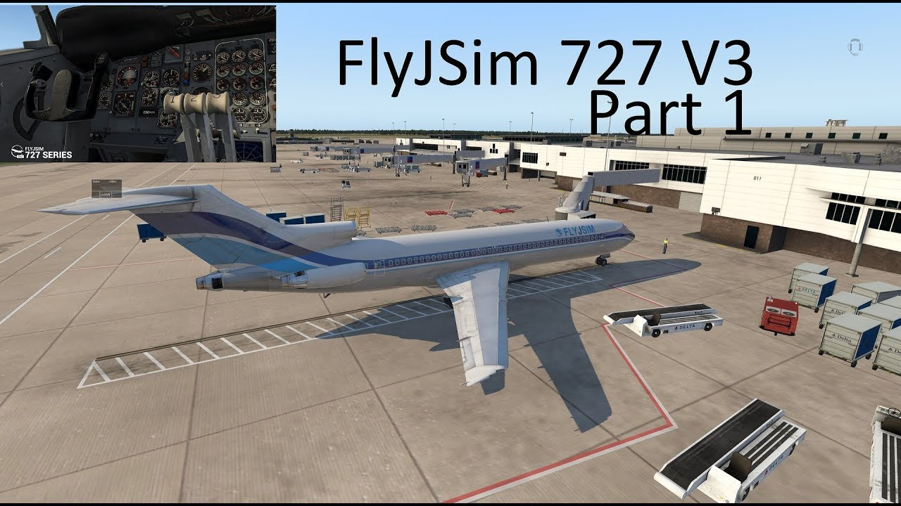 Part One Live with Jack from FlyJSim 727 V3 Preview ! X-Plane One of my  favorites!