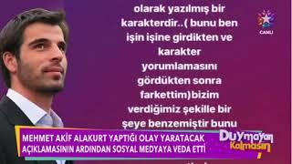 Mehmet Akif Alakurt- Düymayan Kalmasın Magazin Habarlerin'de (9 Mayıs 2018)