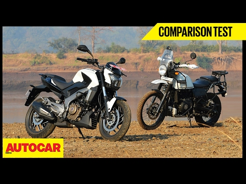Bajaj Dominar 400 VS Royal Enfield Himalayan | Comparison Test | Autocar India
