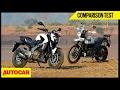 Bajaj Dominar 400 VS Royal Enfield Himalayan   Comparison Test   Autocar India