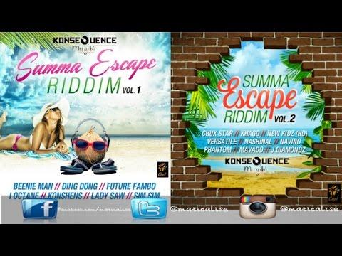 Summa Escape Riddim Full Mix {Konsequence Muzik} [Dancehall] @Maticalise