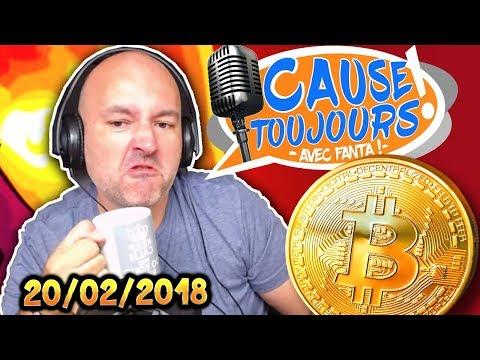 Cause Toujours ! 20/02/2018 : LE BITCOIN - La Matinale : Libre Antenne avec TheFantasio974