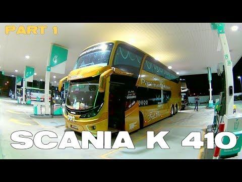 SCANIA K 410 Ketemu Partner Lama Bas Ekspres