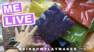 🔴 I'm LIVE AGAIN!!!! Announcing Giveaway Winners!! Where I get my Color Foam Balls!!!!!!
