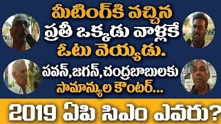 Common man Opinion On Chandrababu pawankalyan and Jagan | Who is The Next CM Of AP | Public Opinion