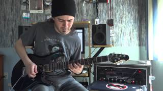 Metallica - Enter Sandman - Guitar performance by Cesar Huesca