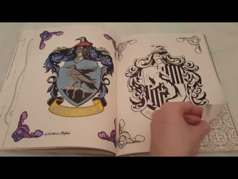 Coloriage Anti Stress Harry Potter.Harry Potter Le Livre De Coloriage Tome 1 Youtube