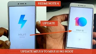 REDMI NOTE 4 UPGRADE MIUI 9 TO MIUI 10 OFFCIAL METHOED | NO ROOT |