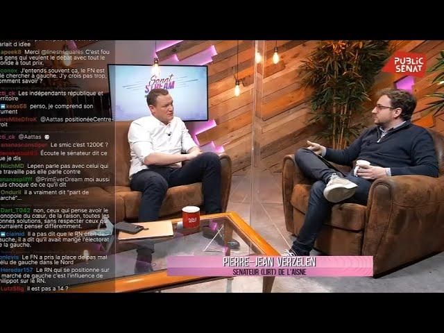 Public Sénat - Pierre-Jean Verzelen : Sénat Stream en direct sur Twitch