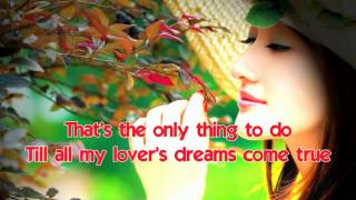Dream Lover ( 1959 ) - LOBO - Lyrics on screen