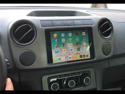 car ipad mini installation