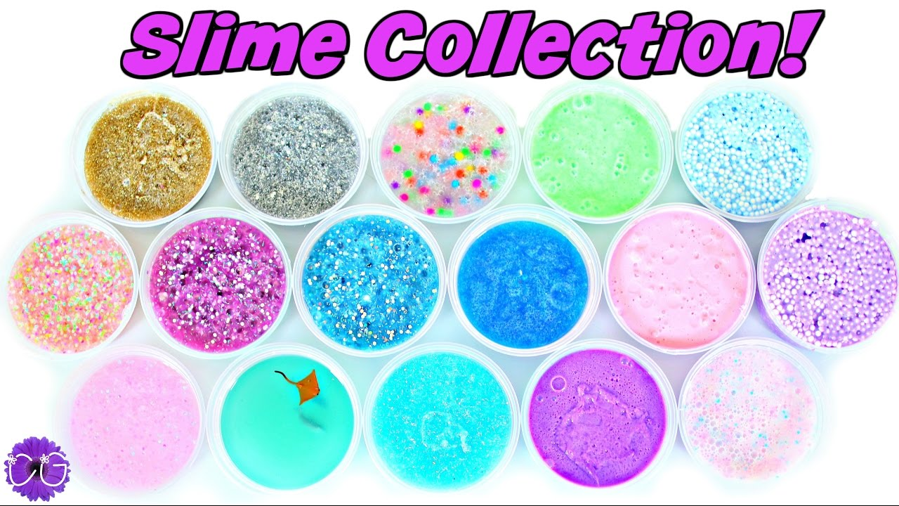 different types of slime and how to make it