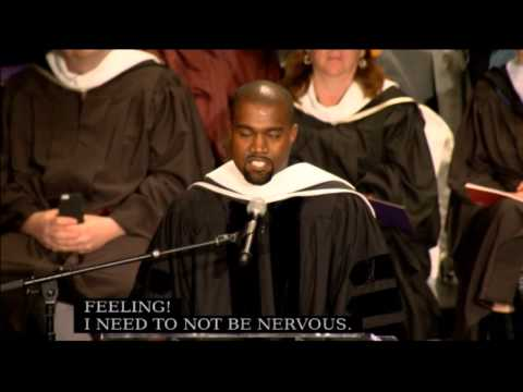 Dr Kanye West Honorary Doctorate Speech 2015