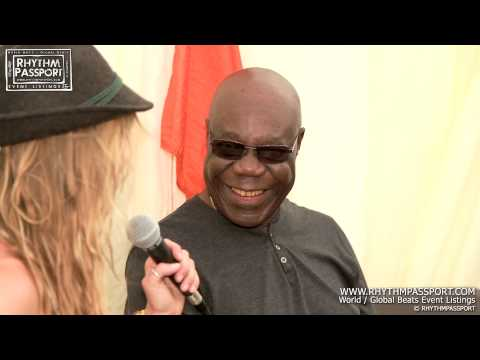 Interview with Manu Dibango @ Womad