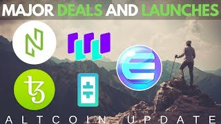 $1Billion Tezos Deal, NULS 2.0 Launch, Theta, Waltonchain, Enjin Coin - Altcoin Updates