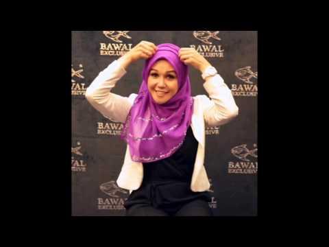 Tutorial Bawal Exclusive Hijab Mestika
