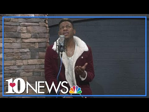 Chris Blue performs new song