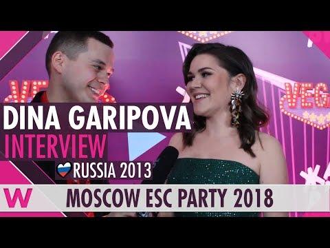 Dina Garipova (Russia 2013) Interview | Moscow Eurovision Party 2018