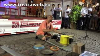 L'incredibile Dario Rossi - Concerto grosso - Amazing street drummer