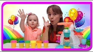 Cum se prepara inghetata Play Doh |Video for Kids