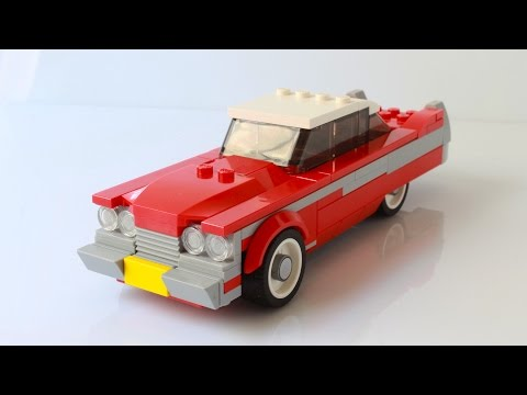 Lego Christine MOC With The Speed Champions Style