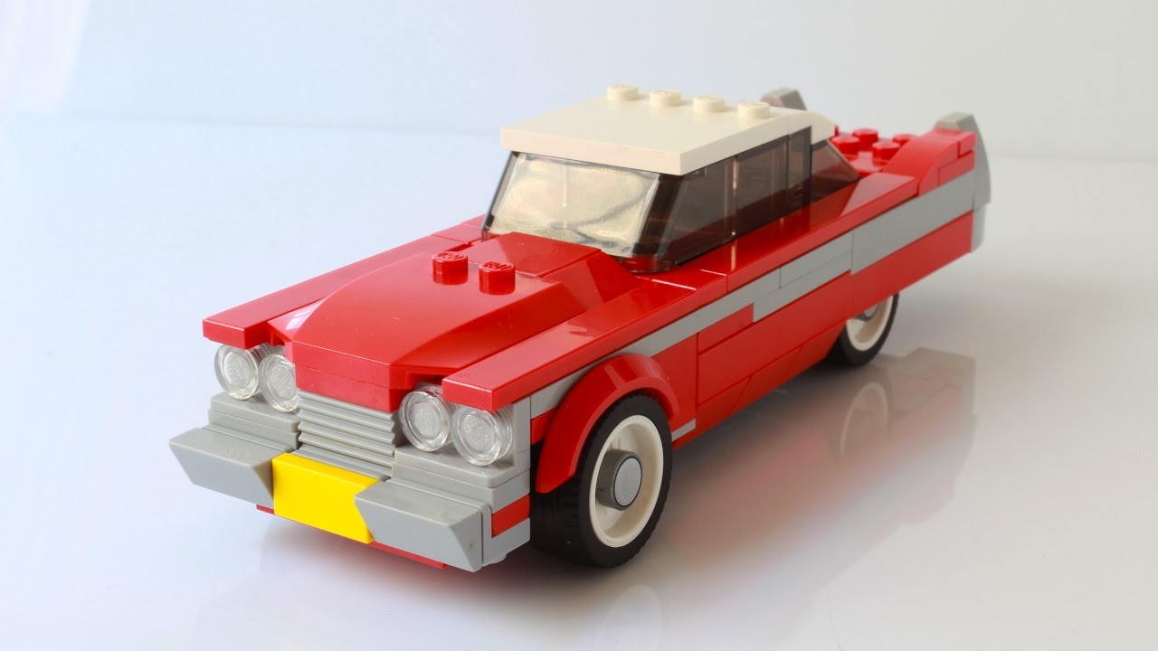 Lego Old Car Instructions