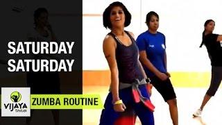 Zumba® Fitness Workout Routine by Vijaya   Saturday Saturday by Indeep Bakshi Ft. Badshah