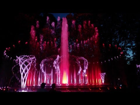 Ed Sheeran - Shape of You (Musical Fountain of Margaret Island, Budapest, Hungary)