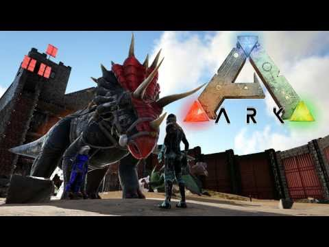 HIGH LEVEL ALPHA TRIKE TAME! FULL BASE TOUR! ARK SURVIVAL EVOLVED EXTINCTION CORE EP12