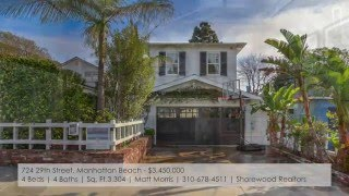 Manhattan Beach Real Estate | Open Houses: March 5-6, 2016 | MB Confidential