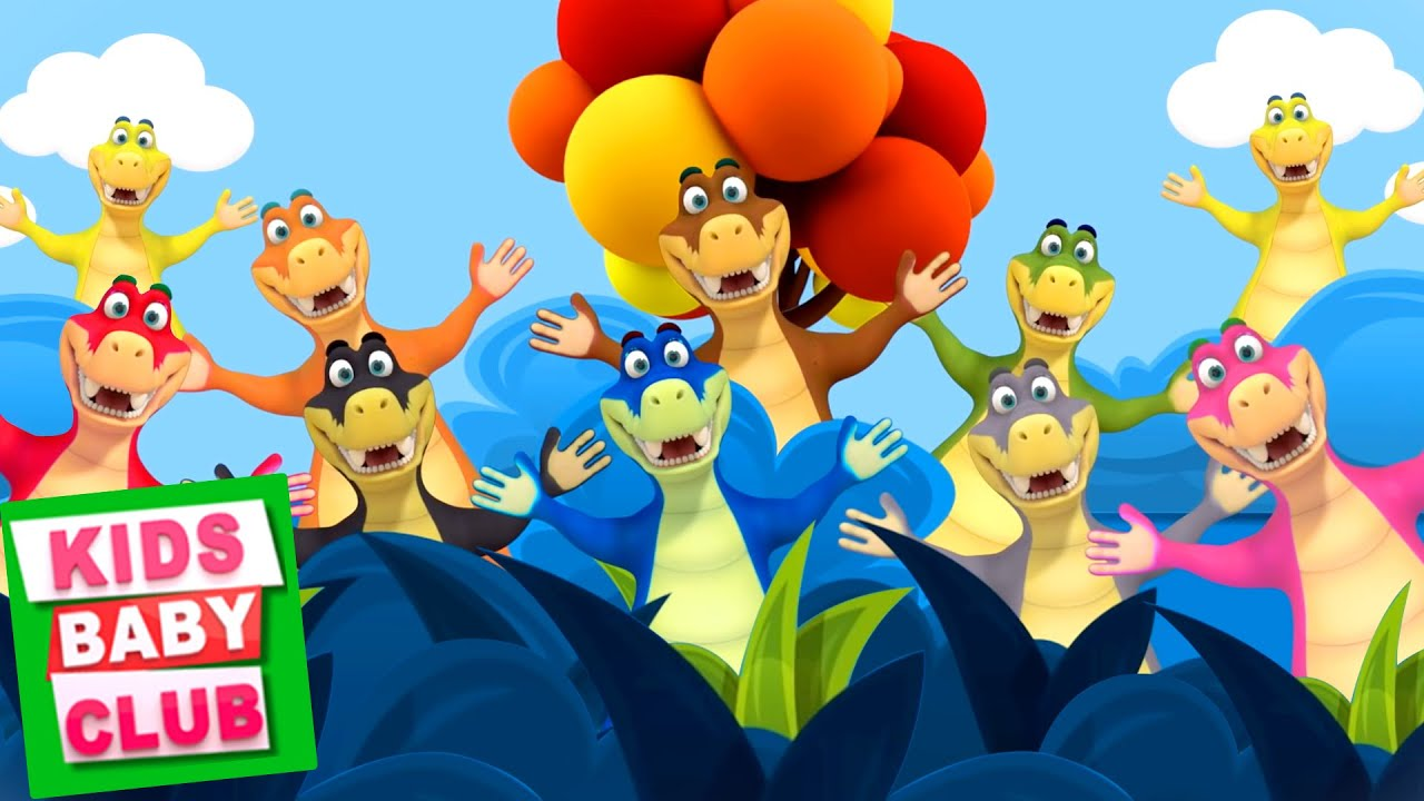 Ten Little Crocodiles | Nursery Rhymes And Kids Song | 10 Little Crocodiles by Kids Baby Club