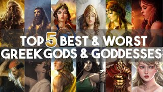 Best and Worst Greek G๐ds and Goddesses