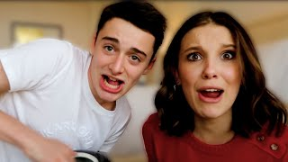 Millie Bobby Brown best friend challenge! | Noah Schnapp