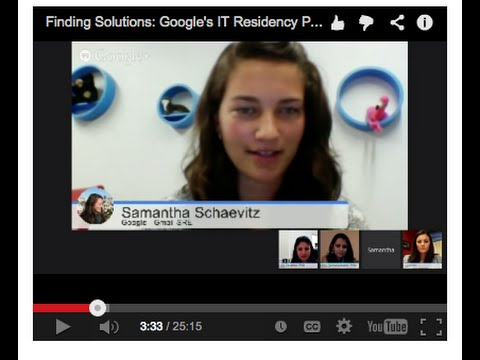 Google's IT Residency Program